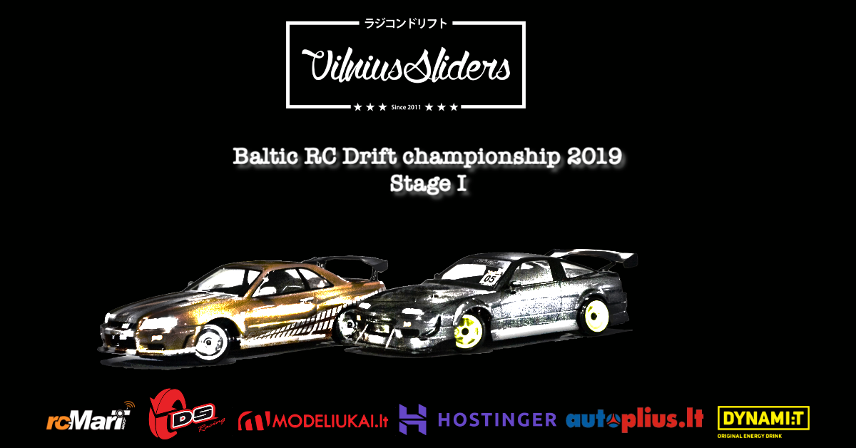 Baltic RC drift championship 2019 Stage I