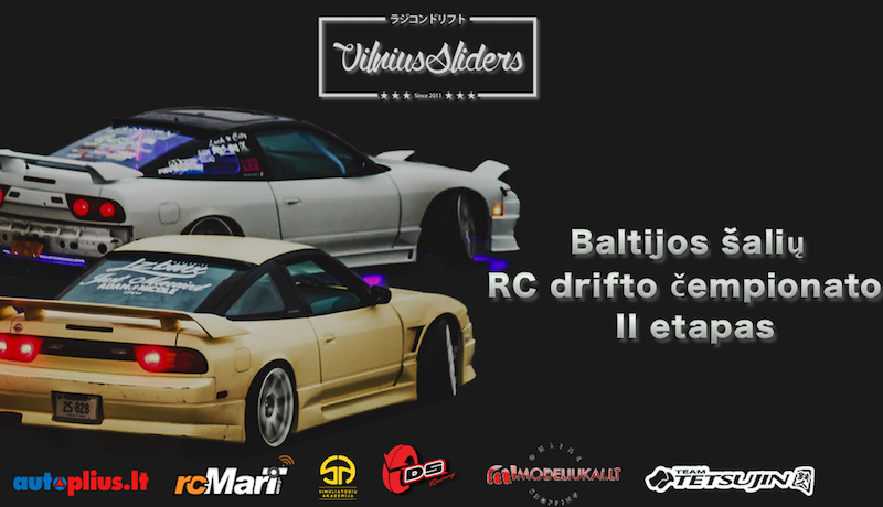 April 28-29th - second stage of Baltic RC drift championship