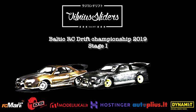 The Baltic RC drift championship of 2019 is starting