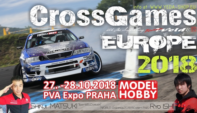 On October 27-th the track will be closed - VilniusSliders goes to Cross Games