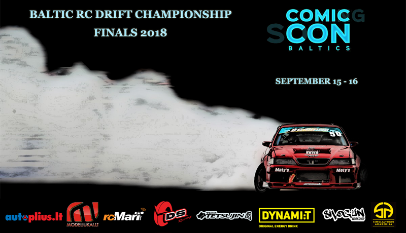 Comic Con 2018 - Baltic RC drift championship finals