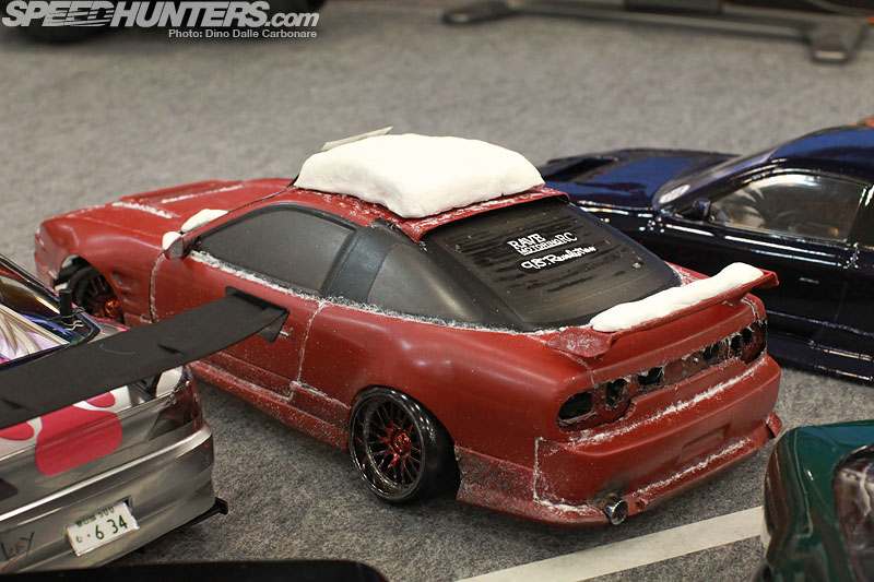 Nissan S13 winter rc drift
